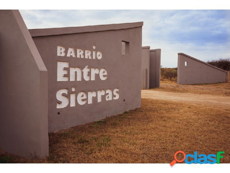 EN VENTA LOTE - ENTRE SIERRAS - SAN LUIS